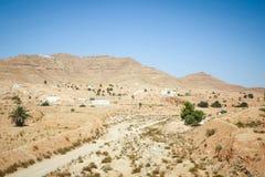 Matmata village in Tunisia Royalty Free Stock Photos