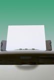 matningspapper Arkivfoton