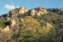 Matopos Hügel Stockfotografie