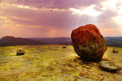Matopos Nationaal Park, Zimbabwe Royalty-vrije Stock Foto's