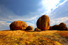 Matopos National Park, Zimbabwe. Famous rock formations (Balancing Rocks) in Matobo (Matopos) NP, Zimbabwe Royalty Free Stock Images