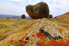 Matopos nationalpark, Zimbabwe royaltyfria bilder