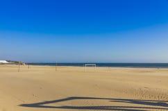 Matosinhos beach in City of Porto, Portugal Royalty Free Stock Photo