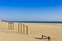 Matosinhos beach in City of Porto, Portugal Stock Photo