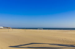 Matosinhos beach in City of Porto, Portugal Royalty Free Stock Photo