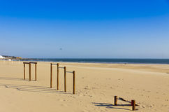 Matosinhos beach in City of Porto, Portugal Stock Photo