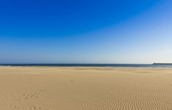 Matosinhos beach in City of Porto, Portugal Royalty Free Stock Image