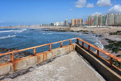 Matosinhos City Skyline in Portugal Royalty Free Stock Photography