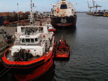 Matosinhos docks cargo Stock Photography