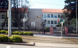 Matosinhos Gonçalves Zarco school Royalty Free Stock Photography