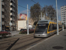 Matosinhos public transport Royalty Free Stock Image