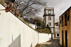Matosinhos S antique Rue Portugal de Roque Photo libre de droits