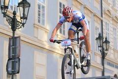 Matous Ulman - Prague Steps bike race Royalty Free Stock Photo
