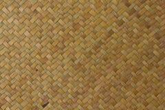 matowej rodzimej tekstury tajlandzki weave Zdjęcia Stock