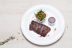 Maträtt av stekt köttbiff Royaltyfri Bild