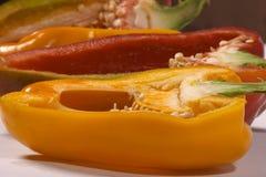maträttförberedelsegrönsak Arkivfoto