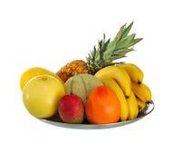 maträttfrukt Arkivfoton