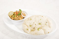 Matra Chaat with Kulcha Stock Photography