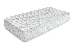 Matratze, die Sie stützte, um gut zu schlafen, lokalisierte die ganze Nacht an lizenzfreie stockfotos