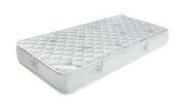 Matratze, die Sie stützte, um gut zu schlafen, lokalisierte die ganze Nacht an stockbild
