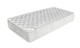 Matratze, die Sie stützte, um zu schlafen gut die ganze Nacht lokalisiert stockbilder