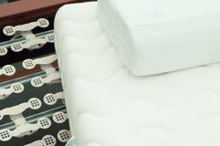 Matratze ein Lattenfeld lizenzfreie stockfotografie
