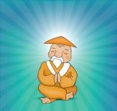 Maître de zen Image libre de droits
