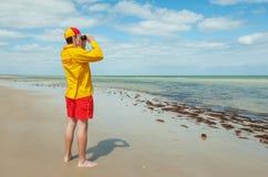 Maître nageur Images libres de droits