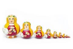 Matreshka Royalty-vrije Stock Afbeelding