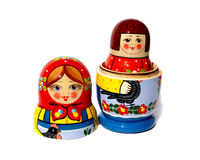 Matreshka doll Royalty Free Stock Photography
