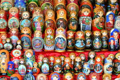 Matreshka dolls Royalty Free Stock Photography