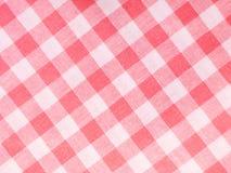 Matéria têxtil verific Fotografia de Stock