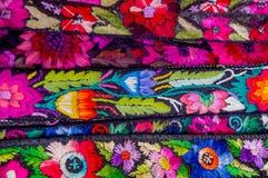 Matérias têxteis maias tradicionais Imagem de Stock Royalty Free