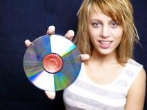Matrica CD Fotos de archivo libres de regalías