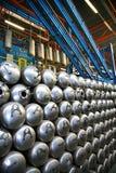 matrice chauffe-eau en acier de chaudières de colagiovanni convoyeur photo stock