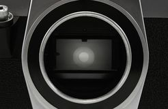 Matrice d'appareil-photo de film photographie stock