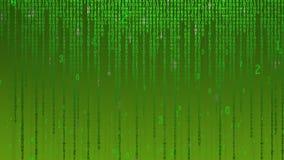 Matrice de données illustration libre de droits