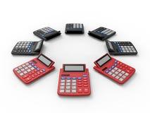 Matrice dei calcolatori royalty illustrazione gratis