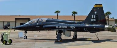 Matrice dell'aeronautica T-38 fotografie stock libere da diritti