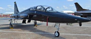 Matrice dell'aeronautica T-38 immagini stock