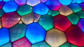 matrice di colore della parete della bolla Immagini Stock