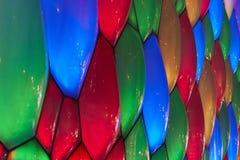 matrice di colore della parete della bolla Immagine Stock Libera da Diritti