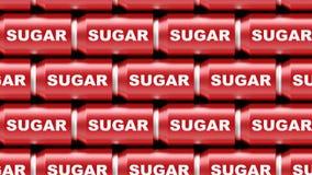 Matrice di Sugar Cans fotografie stock libere da diritti