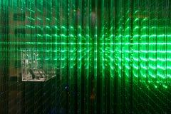 Matrice di uno schermo fatto del LED multiplo Fotografia Stock