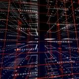 matrice digitale de halo illustration libre de droits