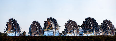 Matrice solare Immagini Stock