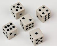 Matrices avec différents nombres Photo libre de droits