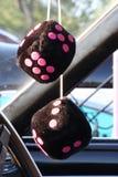 Matrices brouillées noires Image stock