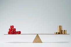 Matrices dans les finances I Image stock