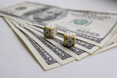 Matrices et argent Photo stock